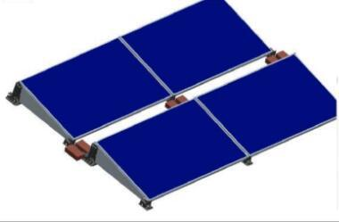 High Intensity/Easy Installation Polymer Roof Solar Mounting Structure