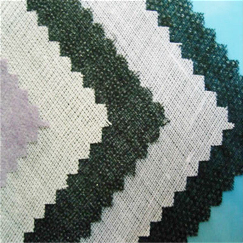 Top Fuse Tricot Woven Interfacing Fabric Fusible Warp Knitted Interlining