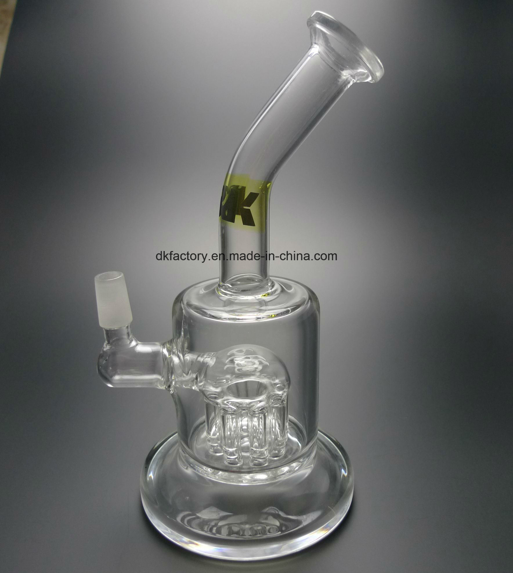 Newest Design Glass Smoking Water Pipe D&K Glass pipe