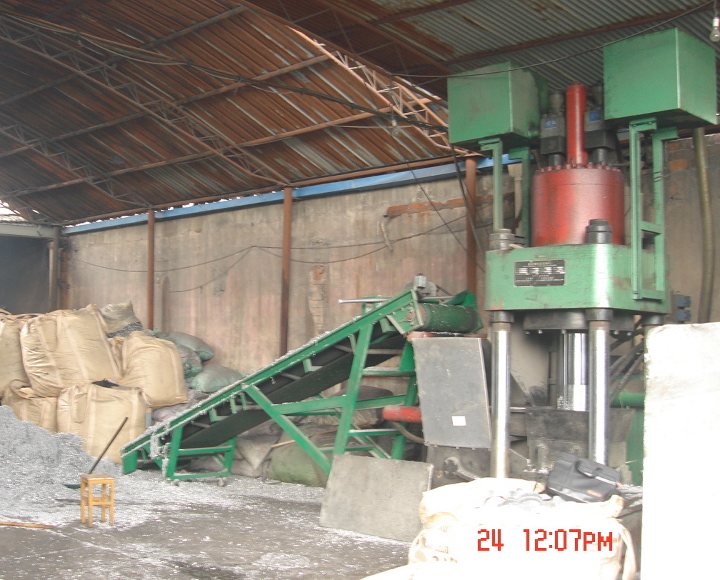 Briquetters Metal Swarf Hydraulic Automatic Briquetting Presses Recycling Machine-- (SBJ-630)