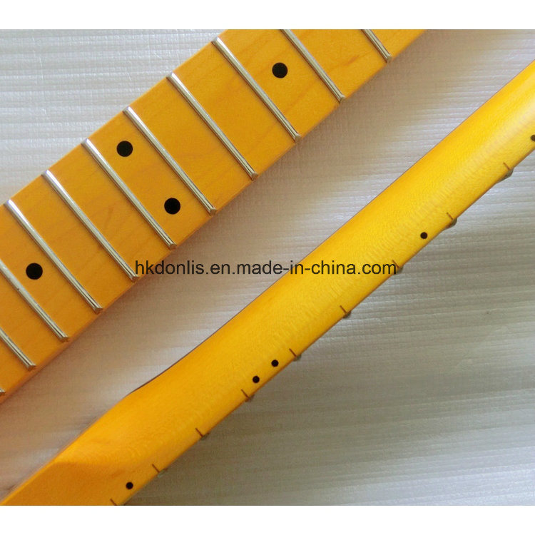 Musical Instruments One Piece Canadian Maple Guitar Neck for Strat Guitar