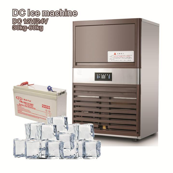 12/24V DC Ice Maker Machine with Solar Power Optional
