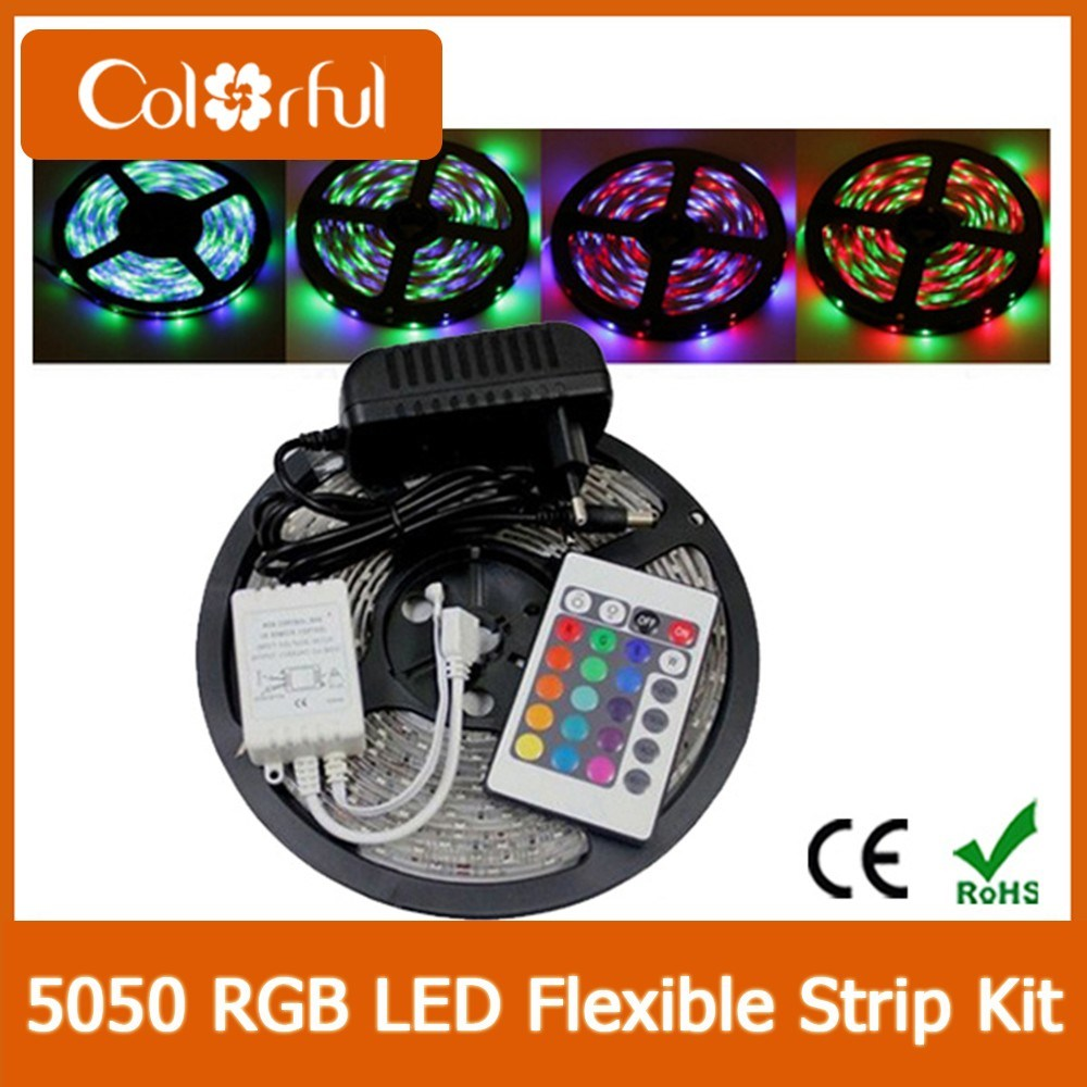 Long Life Lamp RGB DC12V SMD5050 LED Strip (CF-5050-12H)