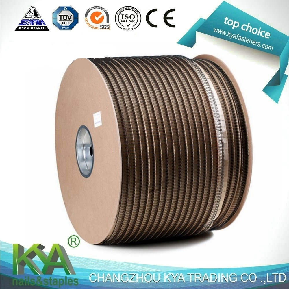 Nylon Coated Double Loop Wire Binding in Roll & Spool