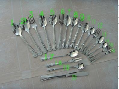 Stainless Steel Tableware (YF-0238)