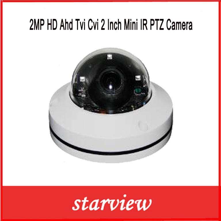 2MP HD Ahd Tvi Cvi 2 Inch Mini IR PTZ Camera