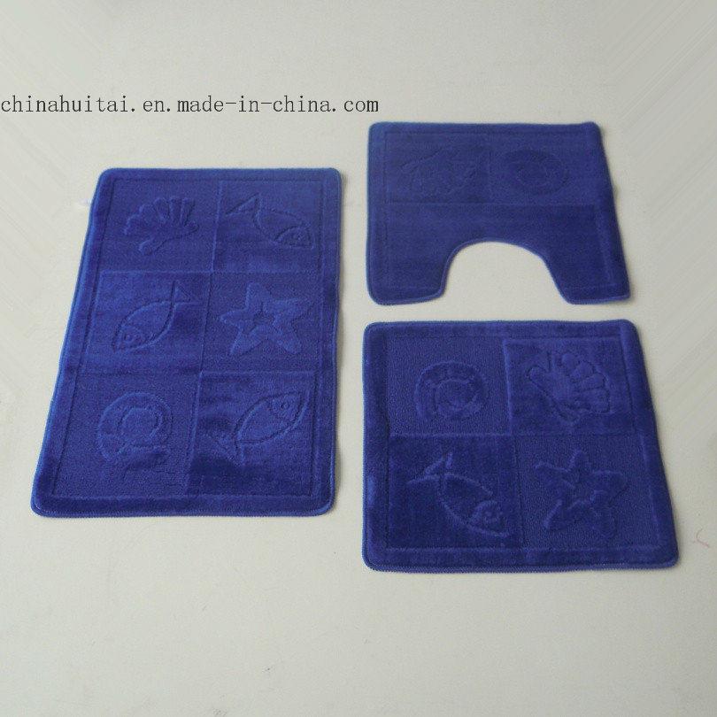 China Bath Mat Set 3PCS Non Slip Bathroom Floor Mat   China Bathmat, Bathroom  Mat Set