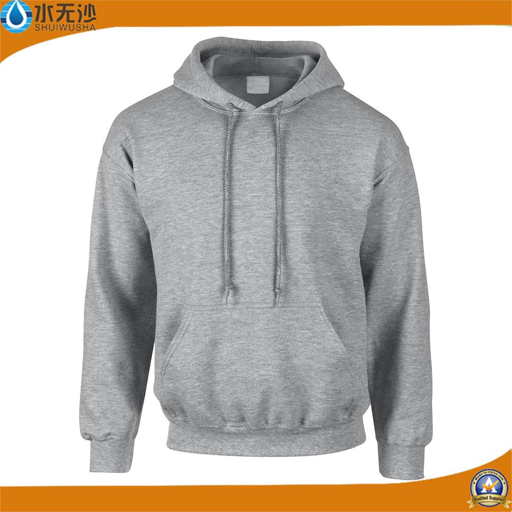 Custom Men Fleece Hoodies Plain Sweatshirt Cotton Hoodies