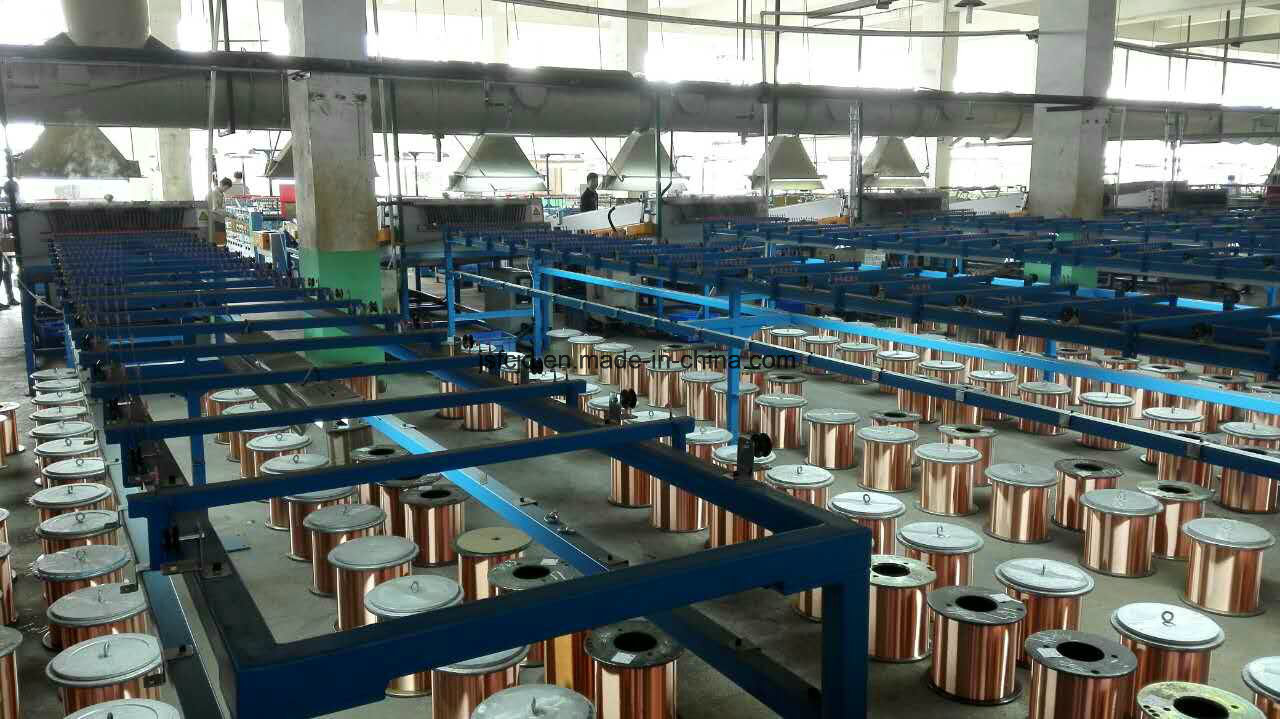Ultra-Fine Copper Wire High Speed Annealing Tin Machine (FC-TX16)