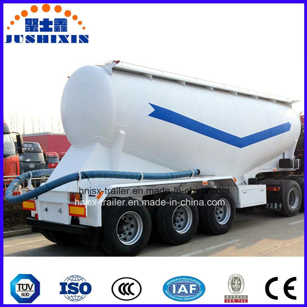 3 Axles Bulk Cement Powder Tank Trailer
