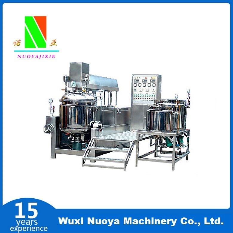 Zjr Cream Vacuum Emulsification Mixing Machine