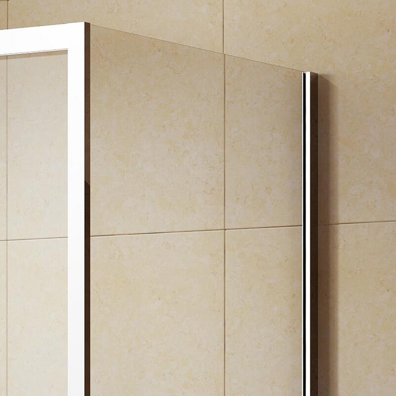 Rectangle Corner Shower Enclosure with Single-Side Tempered Glass (K-332)