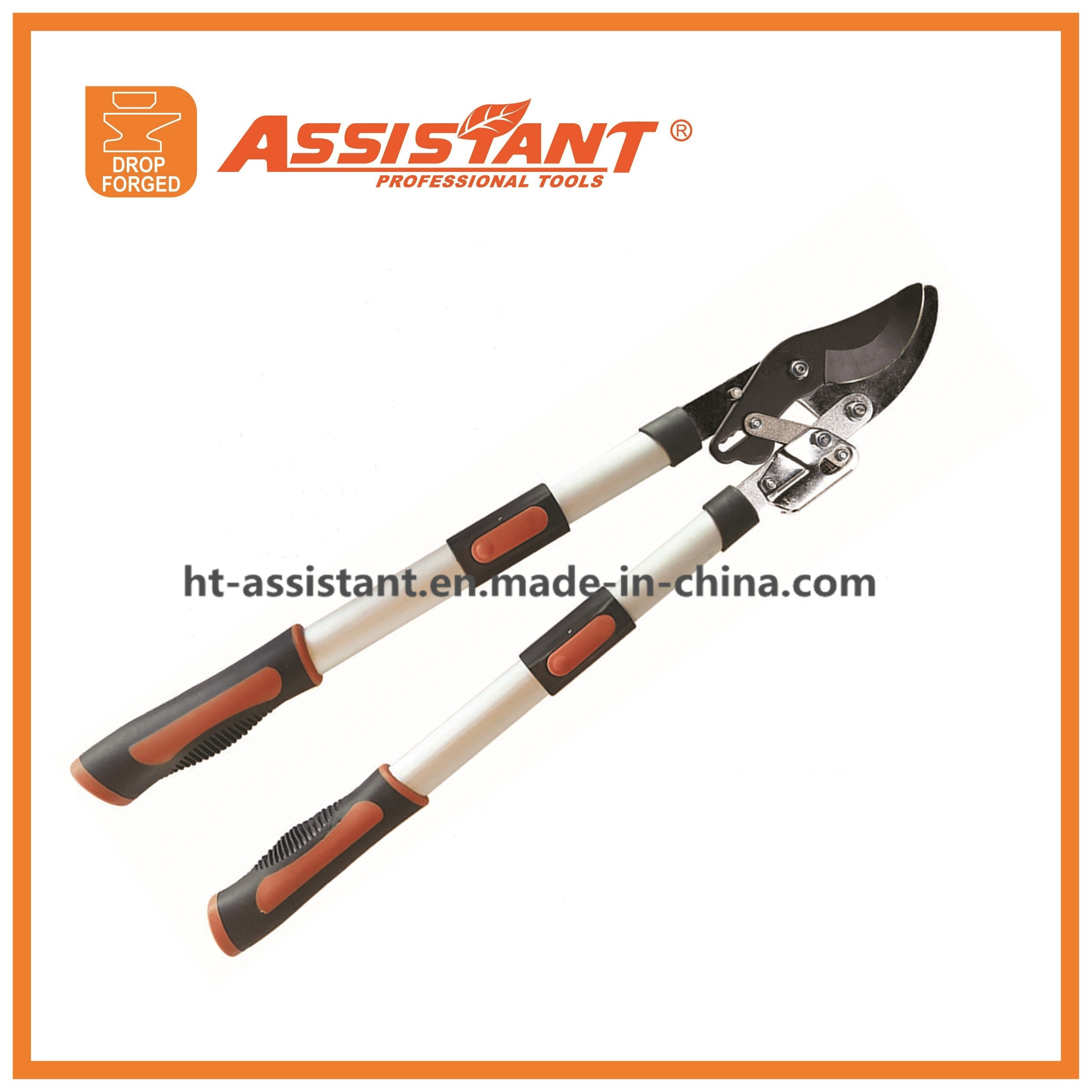 Easy Cut Ratcheting Extendable Bypass Lopper Ratchet Lopper