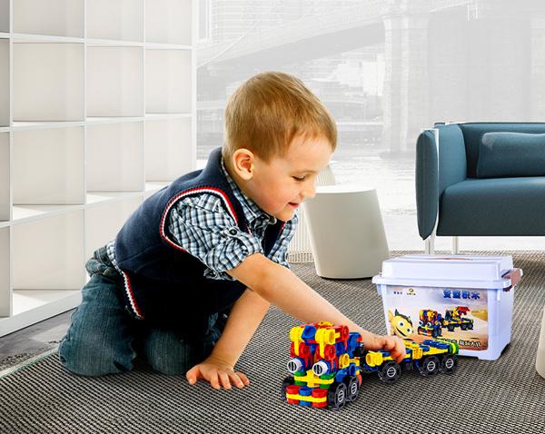 Deforme Blocks Plastic Building Blocks Toys Deformation Toys for Kids Bela Deforme Blocks with Ce Certificate