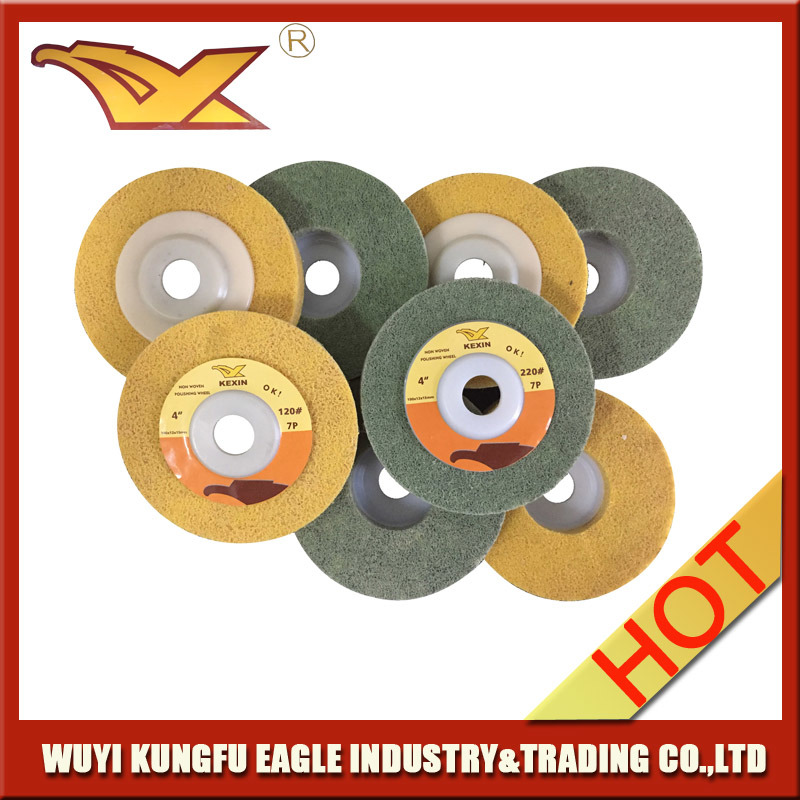 Kexin Newest Non Woven Polishing Wheel