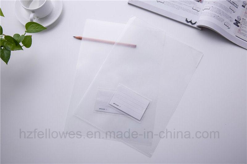 Office Stationery L Shape A4 Size Paper File Holder/Document File Folder