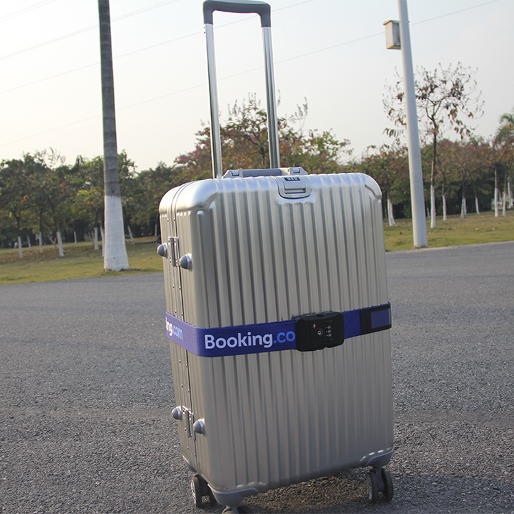 Fashion Custom Polyester/Nylon Suitcase Webbing Belt Tsa Luggage Strap
