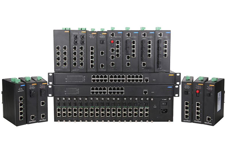 10/100/1000m RJ45 Port Ethernet Media Converter