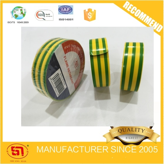 Colorful PVC Electrical Insulation Electrical Tape