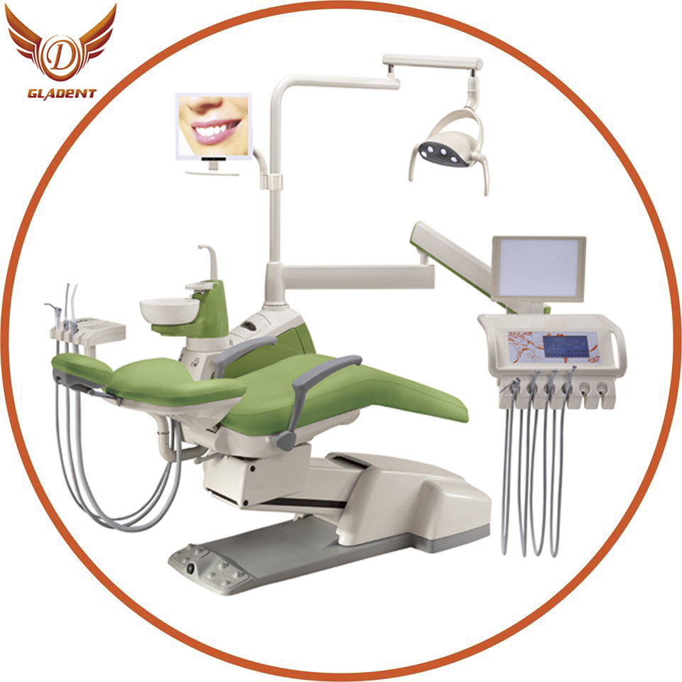 Gladent High Quality Dental Unit for Sale with Imported Italian Chair