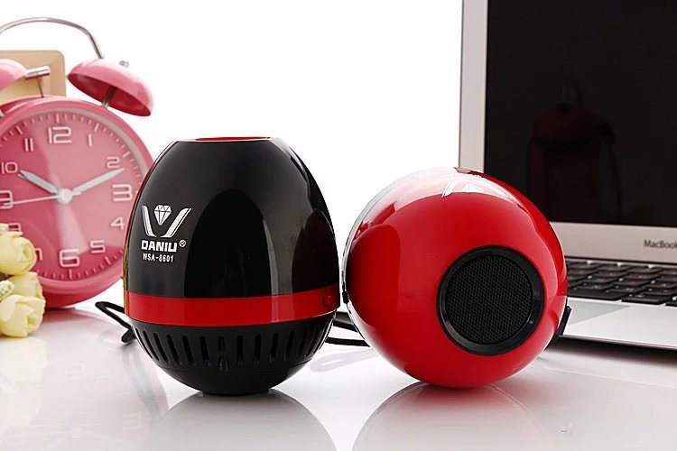 Oval Color Bluetooth Speaker 8601
