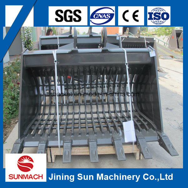 Grating/Grilling/Skeleton Bucket for 12t 20t 30t Excavator