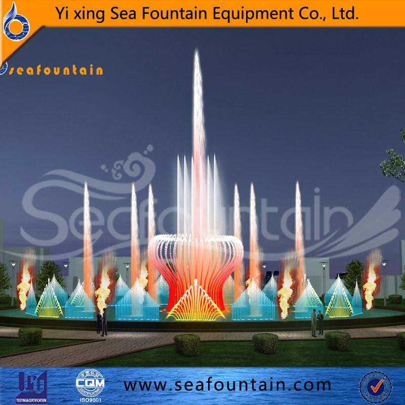 Seafountain Design Urban Construction Music Fountain Interactive