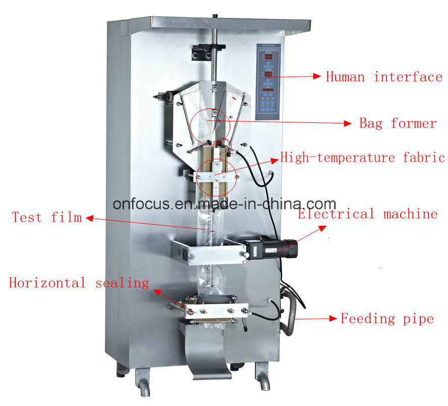 Automatic Water Milk Liquid Packing Machine (AH-ZF1000)