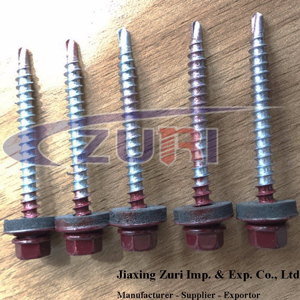 Roofing Screw 4.8X50 Ral 3005