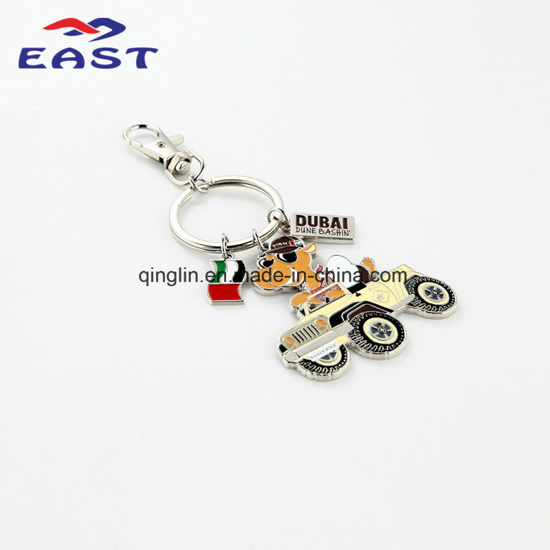 Dubai Tourist Souvenirs More Accessories Metal Keychain