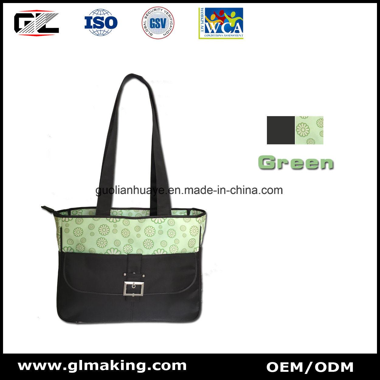 Gl023 Diaper Bag From OEM Manufacturer