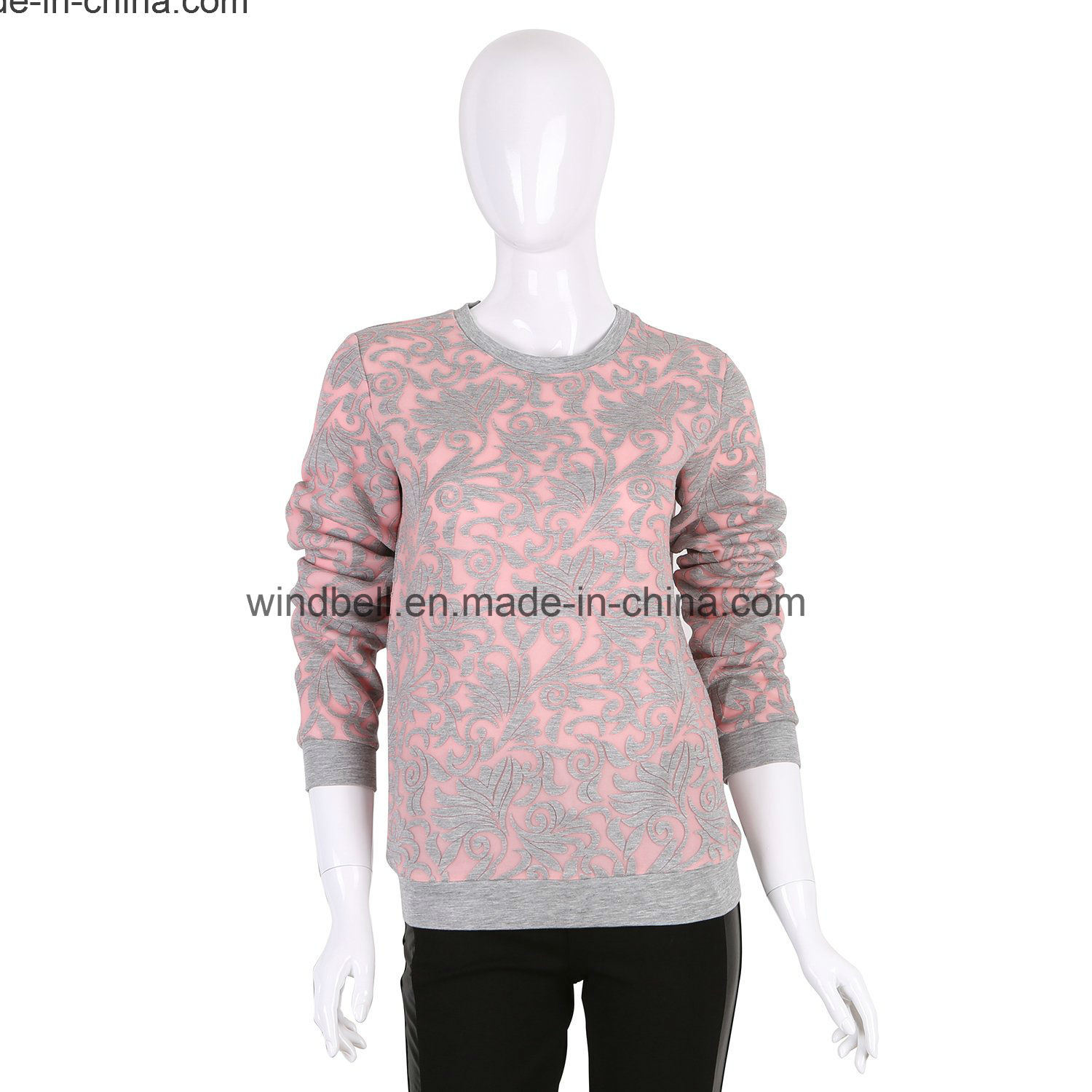New Style Pullover for Women with Burn-out