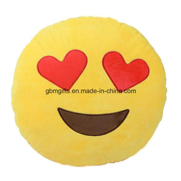 Emoji Cushion, Filled of Microbeads