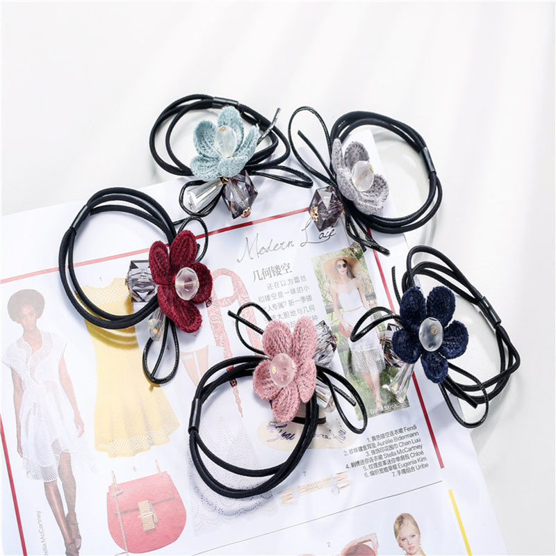 2017 New Products Diamond with Flower Hair Band
