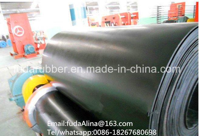 DIN Z Nylon Canvas Belt, Nylon Flat Industrial Belt, Nylon Roundless Rubber Conveyor Belt