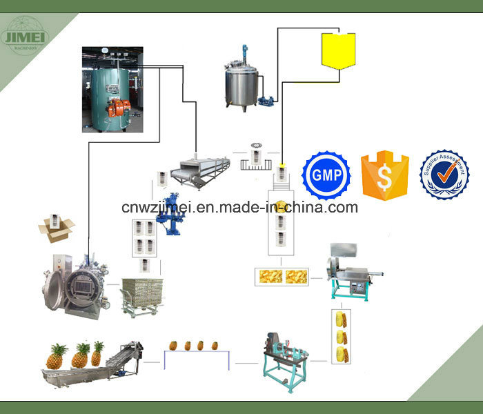 Canned Fruit and Vegetable Production Line with Factory Price for Export