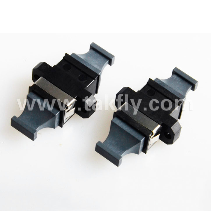 Sc/FC/St/LC/E2000/MPO Flange Type Fiber Optic Adapter