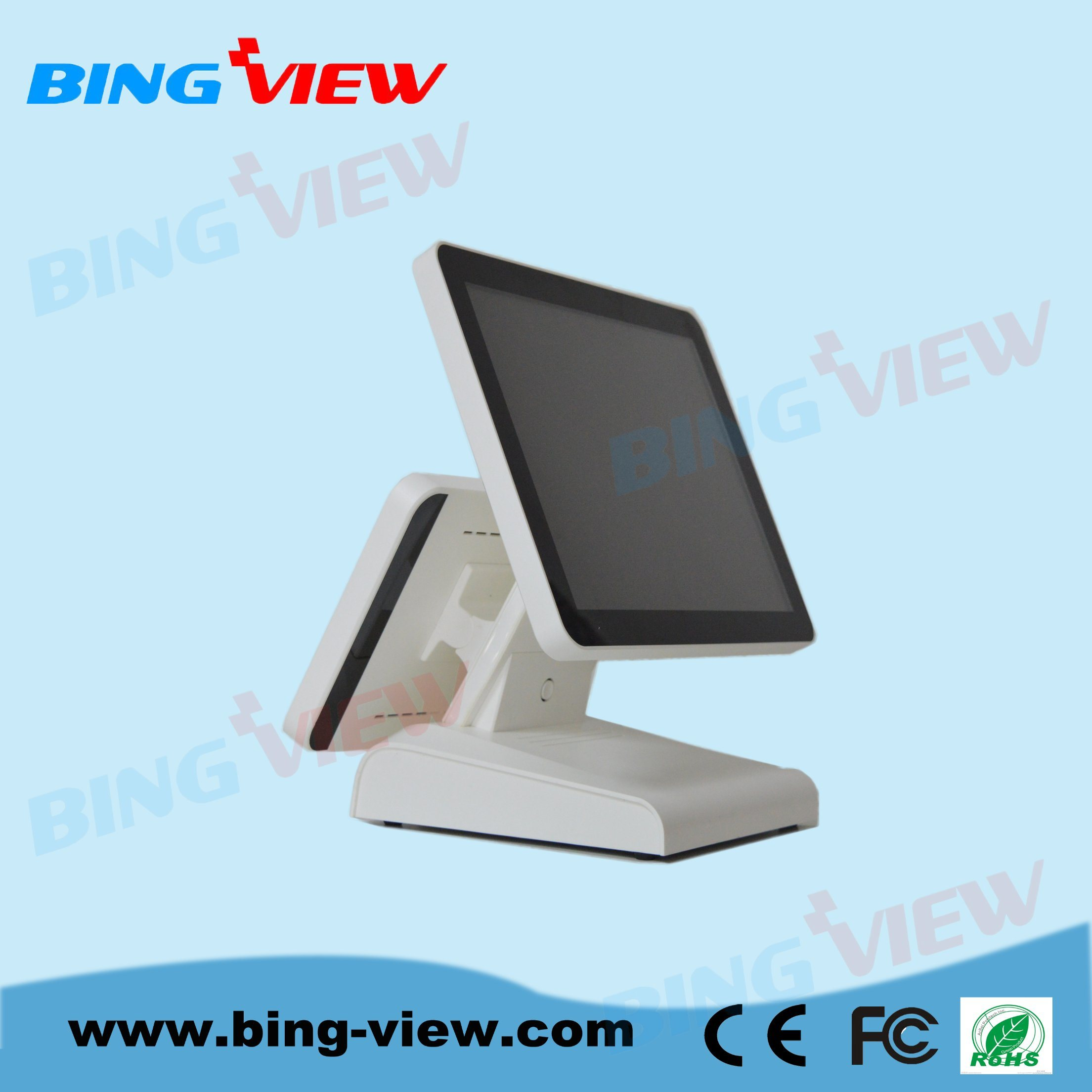 "15""Resistive Point of Sales/POS Touch Screen Monitor with USB/RS232"