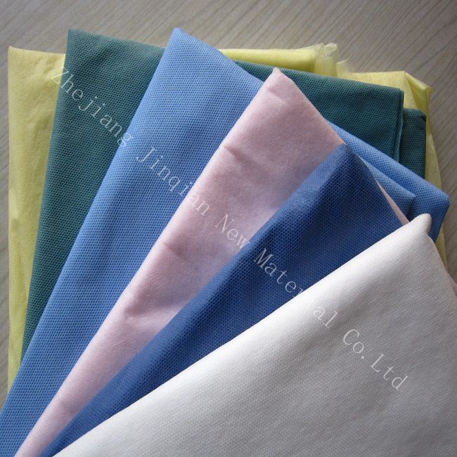 High Quality Disposable Colorful PP Nonwoven Fabric