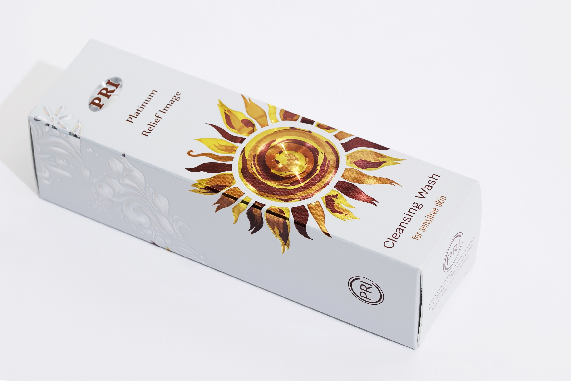 Custom Design Printed White Cardboard Paper Cosmetic Box for Packaging