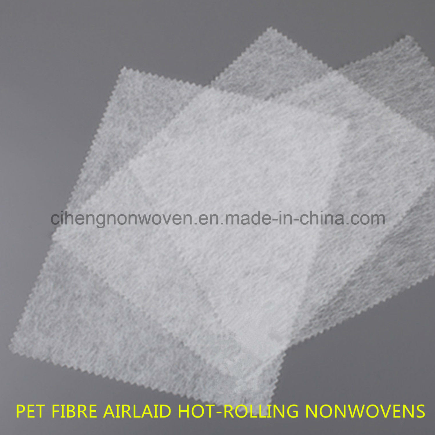 Pet Fibre Backbone Nonwoven Material