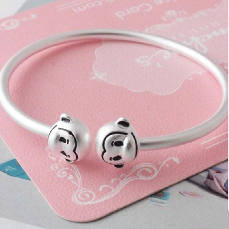 Parent-Child S925 Pure Silver Bracelet