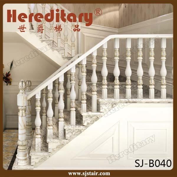 European Style Fashion Cast Aluminum Stair Railing Post (SJ-B040)