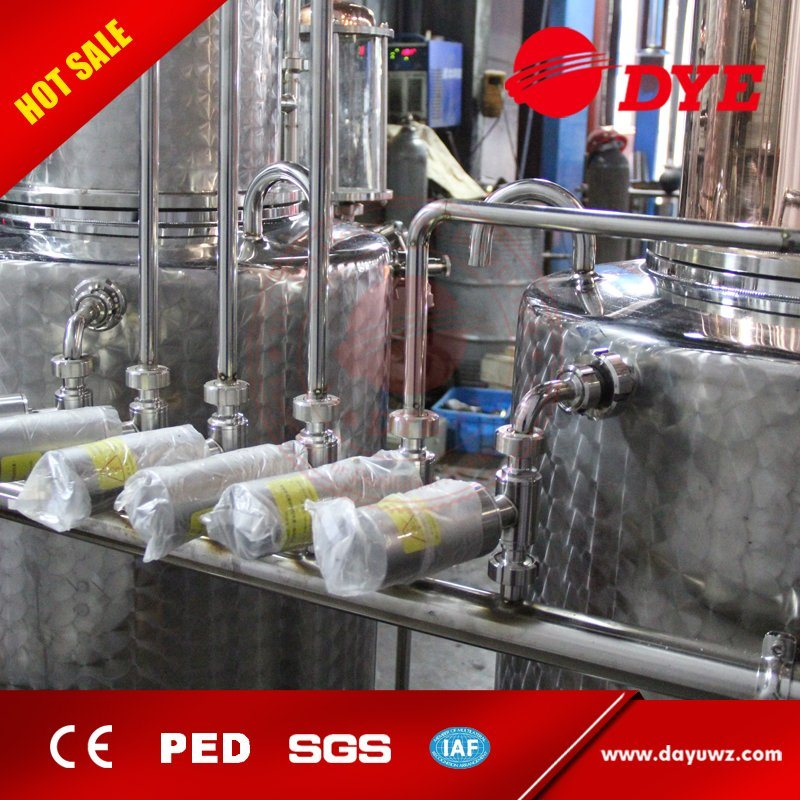 Made in China 500L Industrial Electric Stainless Steel Beer Brewing Equipment