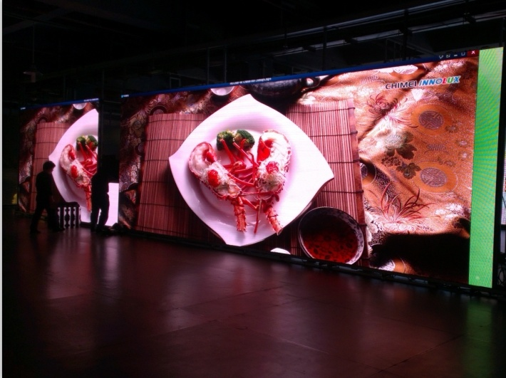 P4, P5, P6, P6.25 LED Video Wall for Indoor or Outdoor Display Panel (500*500mm cabinet size)