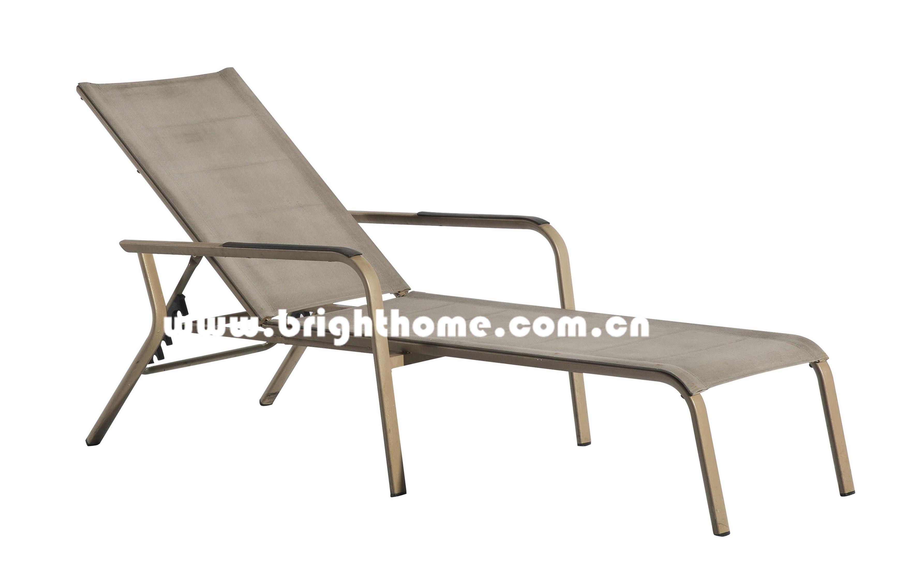 Aluminum Sun Lounger/Chaise Bed/Beach Chair