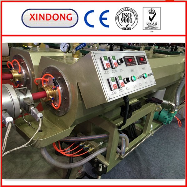 Single Screw Plastic Extruder PPR PE Pipe Production Line