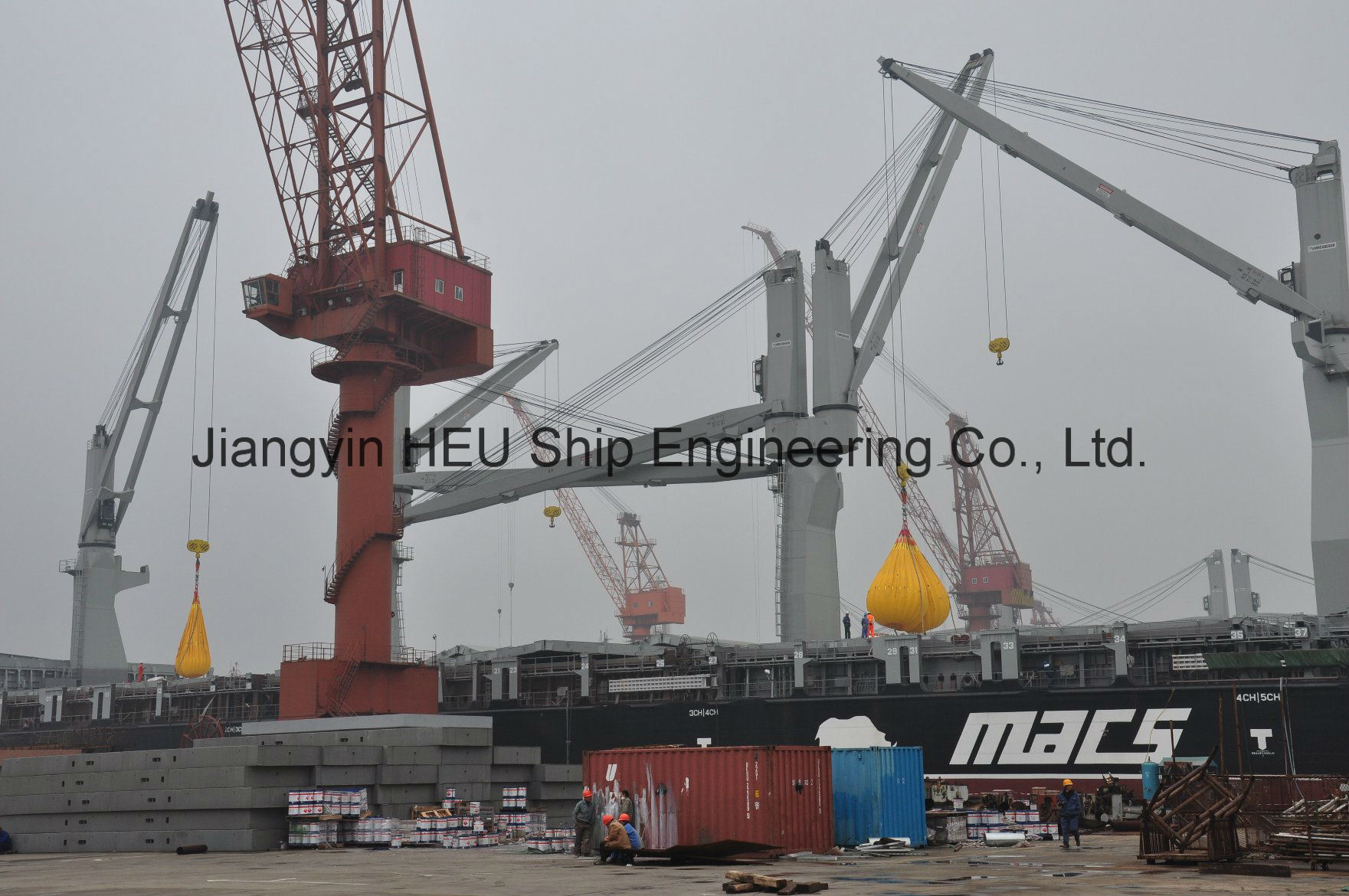 Crane Load Water Weight