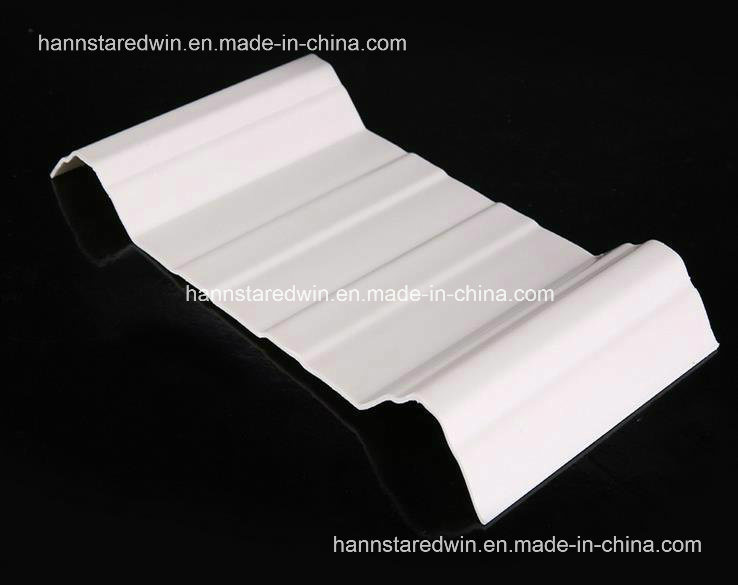 UPVC Trapezoid Roof Tile, Roofing Tiles in China, Roof Tile