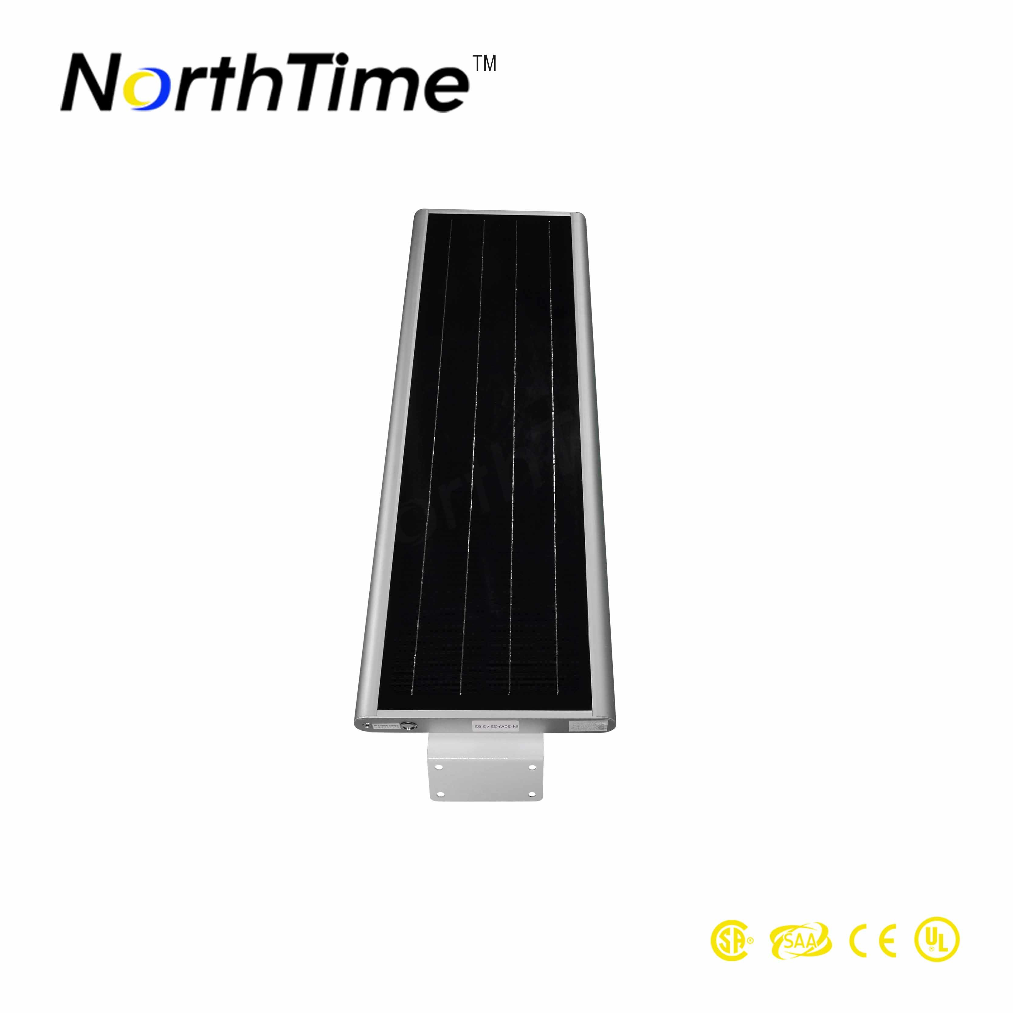 Smart Phone APP Control Integrated Outdoor Solar LED Street Lighting